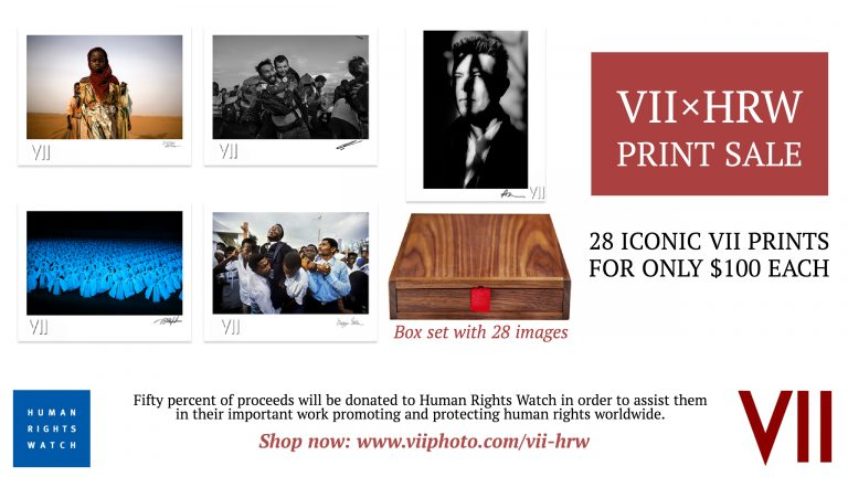 Due to overwhelming demand, we're extending our VIIxHRW print sale — 28 signed iconic VII prints are available for only $100 each!