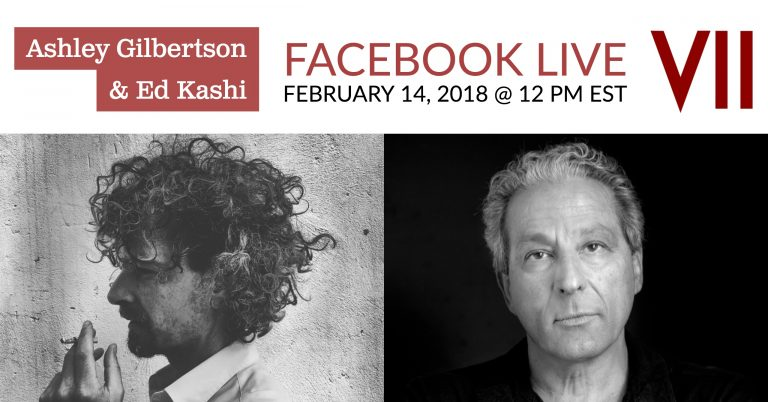 Facebook Live with Ed Kashi and Ashley Gilbertson