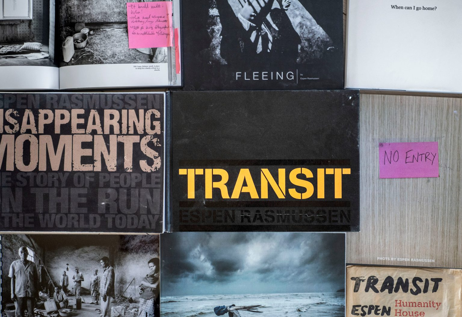 """VII Interactive: Book Club. """"TRANSIT"""" – A Seven-year-long Book Project with Espen Rasmussen"""